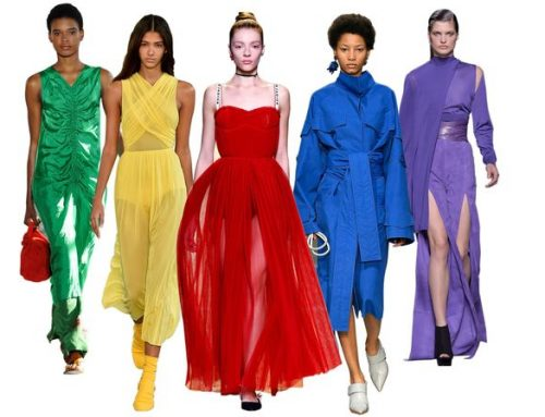 Colour Coding: A Psychologist's Take On The 'It' SS17 Hues
