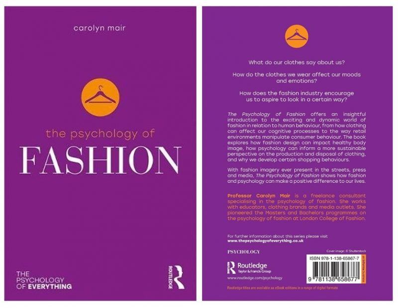Psychology of Fashion book covers
