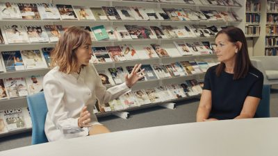 Alexa Chung interview for Vogue with Carolyn Mair