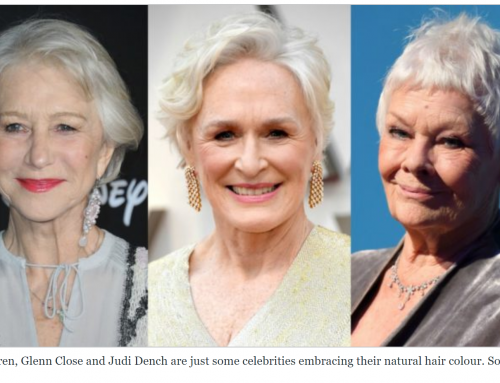 Why embracing grey hair is empowering for women